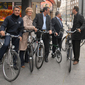 [Video] Ministers go biking